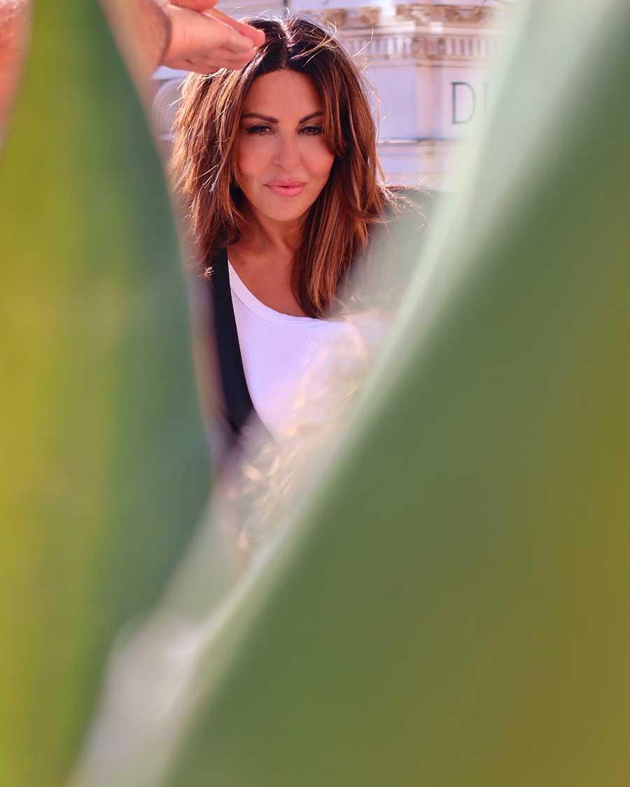 Sabrina Ferilli Backstage Grazia